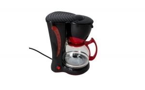 Filtru de cafea Victronic, 800 W, 10-12 Cesti, Negru + Set cutite 3 piese cadou
