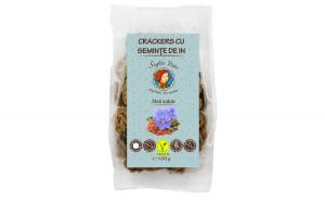 Crackers cu seminte de in, 100 g