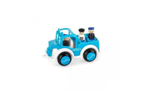 Masina de politie Viking Toys cu 3