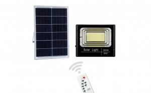 Proiector 200W cu Panou Solar, Telecoman