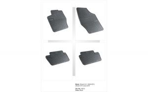 Covoare cauciuc CITROEN C4 II 2011 ( 0632C P40 )