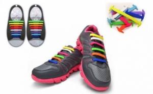Set 16 sireturi multicolore, elastice, din silicon