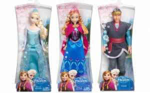 Set papusi Anna, Elsa si Kristof, la doar 59 RON in loc de 119 RON