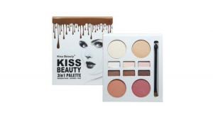 Paleta 3 in 1 Kiss Beauty, 2