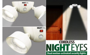 Lampa LED fara fir cu senzor de miscare Night Eyes, la 49 RON in loc de 99 RON