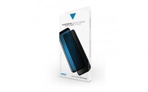 Folie de protectie tempered glass iPhone XS MAX Vetter 3D Negru Privacy