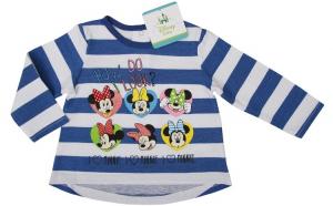 Bluza / Tricou cu maneca lunga , Minnie Mouse, 81 cm