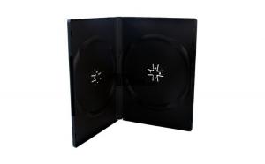 Carcasa plastic DVD dubla 14mm OMD