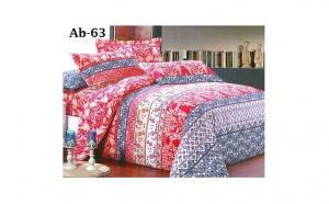 Pachet 4 lenjerii de pat cu 4 piese, din bumbac satinat, la doar 228 RON in loc de 659 RON