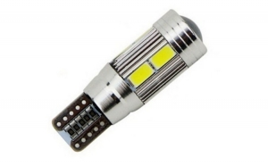 Led auto Canbus T10 cu 10 SMD