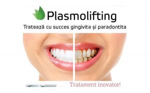 Trateaza gingivita si previne pierderea dintilor cu tratamentul revolutionar Plasmolifting PRP.  Alege pachetul cu 3 sedinte!