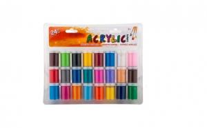 Set 24 culori acrilice
