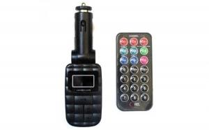 Modulator FM auto cu Telecomanda, Ecran LCD, Slot SD/MMC si Port USB