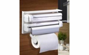 Dispenser de bucatarie pentru hartie, folie aluminiu si folie stretch Triple Pape