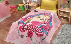 Cuvertura Barbie pentru fetite, Campanie Mos Nicolae