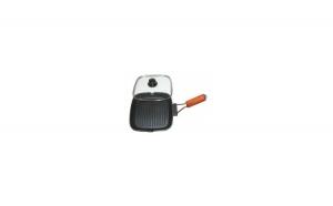 Tigaie grill cu capac Grunberg HXG2828LD