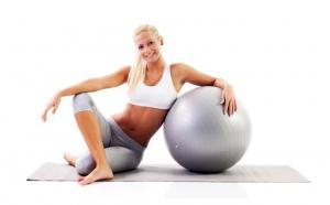 Minge pentru fitness, 65 cm sau 75cm diametru + bonus pompa manuala