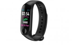 M3 plus, bratara fitness smartband, bluetooth, oled, ip67, ritm cardiac, notificari apeluri, aplicatii