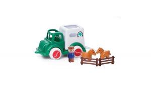 Camion Viking Toys Transport Cai cu