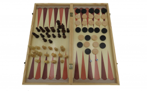 Jocuri de sah si table, lemn, 48x48
