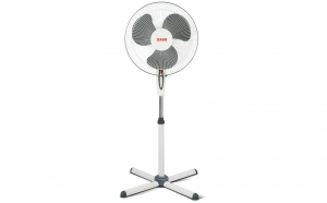 Ventilator cu picior Zass ZF 1605, 41cm diametru, 45 W, Motor silentios si puternic, Culoare Alb