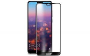 Folie sticla securizata Full Glue Huawei P20  Black