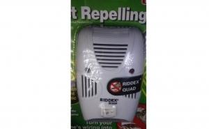 Scapa de gandaci! Aparat anti-gandaci cu ultrasunete Pest Reppeling Aid la doar 39 RON in loc de 69 RON