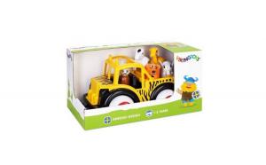 Camion Viking Toys Safari cu ghid si