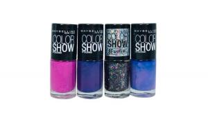 Set 4 Lac de unghii Maybelline Color