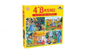 Puzzle 4 basme 6, 9, 15, 20 EVO