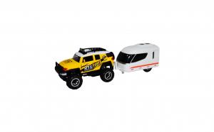Jeep cu rulota