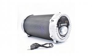 Boxa Bluetooth portabila Karaoke, Radio FM, TF, MP3, USB - joc de lumini