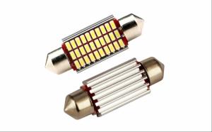 Set 2 Becuri LED C5W Can-Bus - pentru numar sau plafoniera