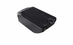 Cotiera auto - Multifunctionala - 3 x slot usb - suport pahar