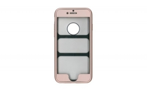 Husa iPhone 6 Plus Flippy Full silicon 360 - Auriu