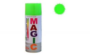 Magic Vopsea spray verde fluorescent 400 m