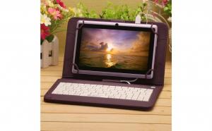 Husa Tableta Cu Tastatura, 8 Inch, Mov