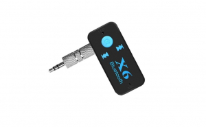 Kit Auto Bluetooth X6, 3.5 mm, 2.4 GHz, IntelliSec®, Negru