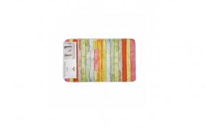 Set 2 covoare baie print  Stripes, Casa Plastor, 75 x 45 cm