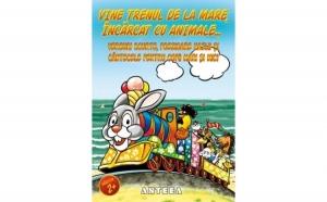 Vine trenul de la mare, incarcat cu animale , autor Colectiv