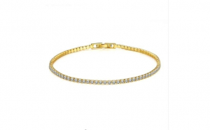 Bratara Tennis Gold Plated 18K