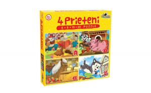 Puzzle 4 prieteni 6,9, 15, 20 EVO