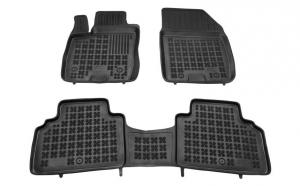 Set covorase cauciuc stil tavita negru Ford Tourneo Courier 02.14- van rezaw
