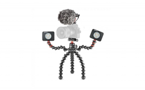 Kit Vlogging Joby GorillaPod 3K PRO Rig cu 2 LED si Microfon
