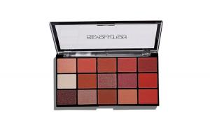 Paleta fard de pleoape Makeup Revolution Re-Loaded Palette, Newtrals 2, 15 nuante