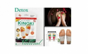 Trei cutii plasturi pentru detoxifiere Kinoki