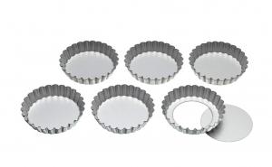 Set 6 forme pentru prajituri, 10 cm
