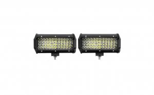 Set 2 x Proiectoare auto LED, 144W