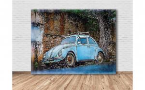 Tablou Canvas Old Car 70x52 cm