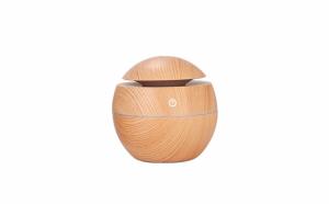 Umidificator de aer cu ultrasunete, Wistig aromaterapie, ultrasonic, cu LED, difuzor de arome, lampa de veghe